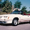 1984 Ford Mustang 20th Anniversary Convertible